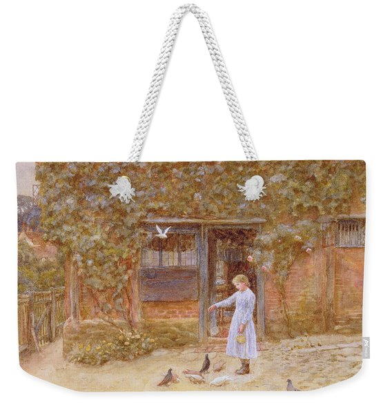 A Cottage At Shere Weekender Tote Bag