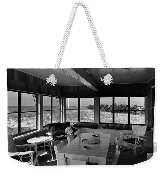 A Covered Porch With A View Weekender Tote Bag