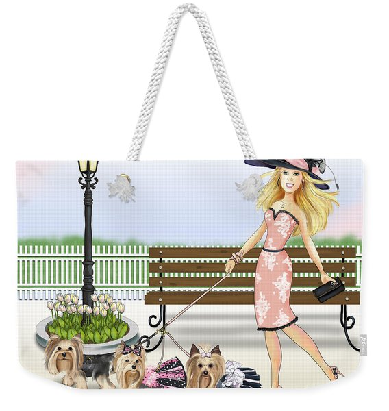 A Day At The Derby Weekender Tote Bag