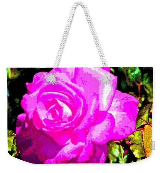 A Delta Rose Weekender Tote Bag