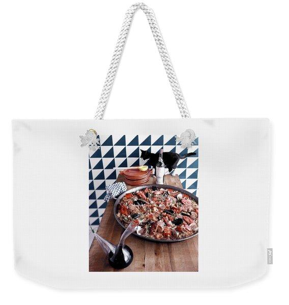 A Dish Of Paella Weekender Tote Bag