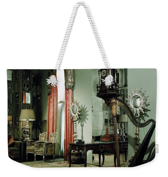 A Drawing Room Weekender Tote Bag