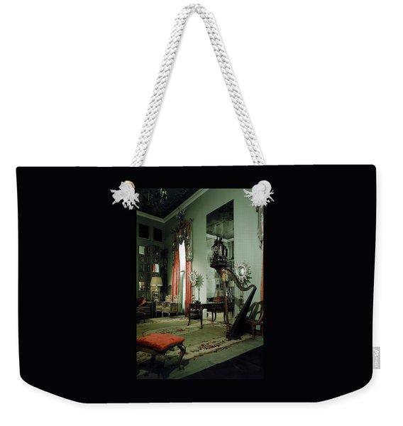 A Drawing Room Weekender Tote Bag