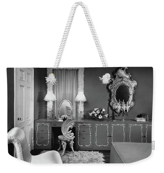 A Dressing Room Weekender Tote Bag