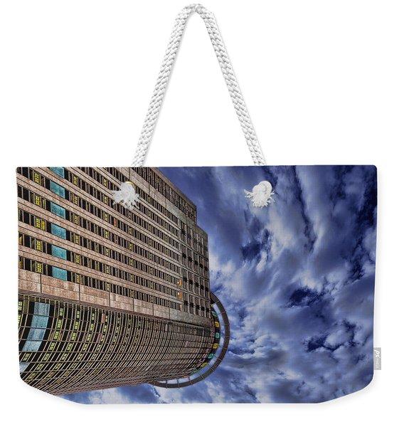 A Drifting Skyscraper Weekender Tote Bag
