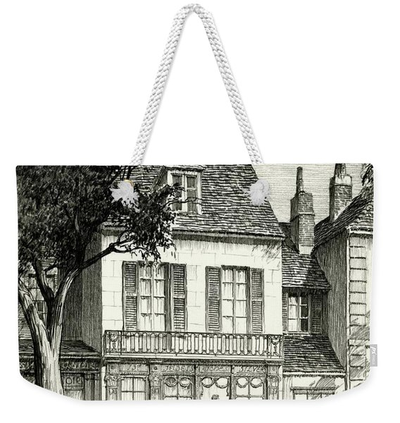 A Facade Of A Store Weekender Tote Bag