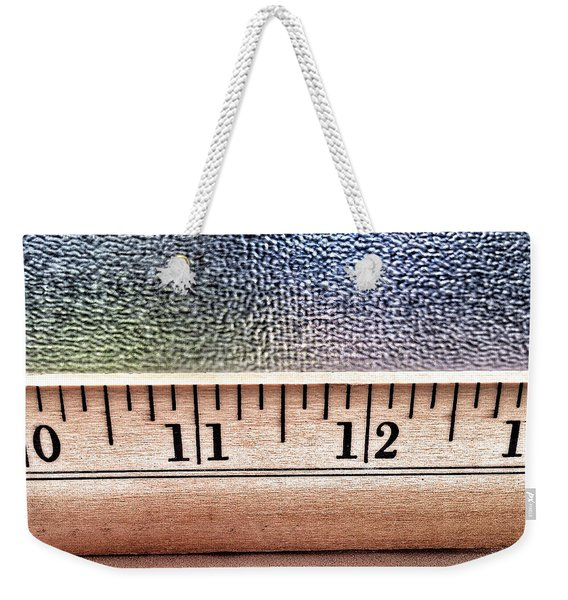 A Few Inches Weekender Tote Bag