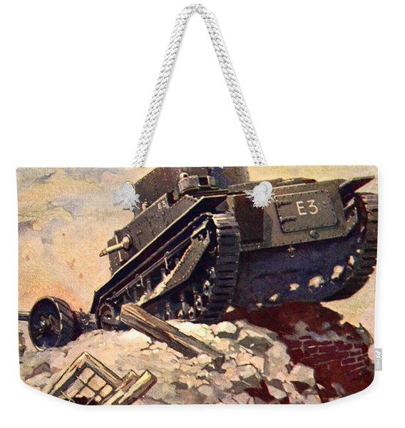 A First World War Tank Weekender Tote Bag