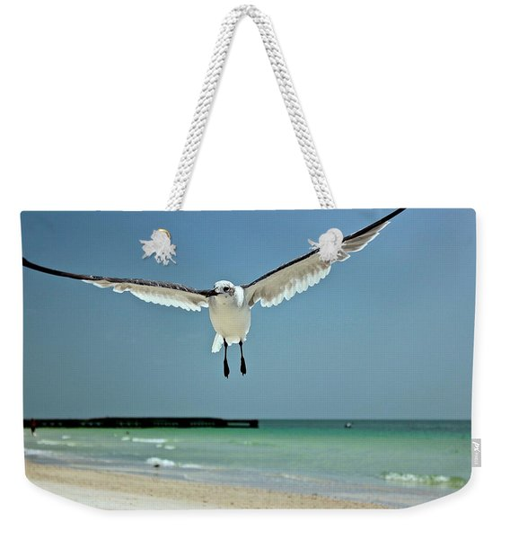 A Florida Gull Weekender Tote Bag