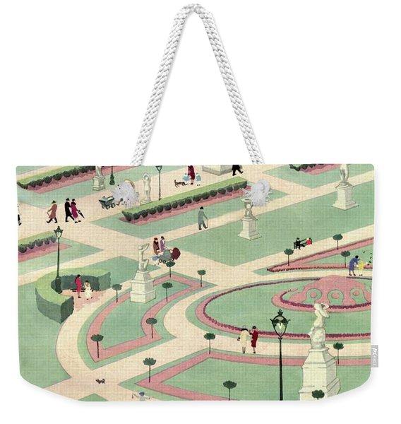 A Formally Designed Park Weekender Tote Bag