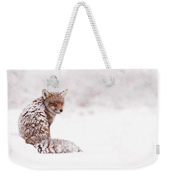 A Red Fox Fantasy Weekender Tote Bag