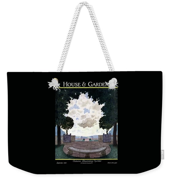 A French Formal Garden Weekender Tote Bag
