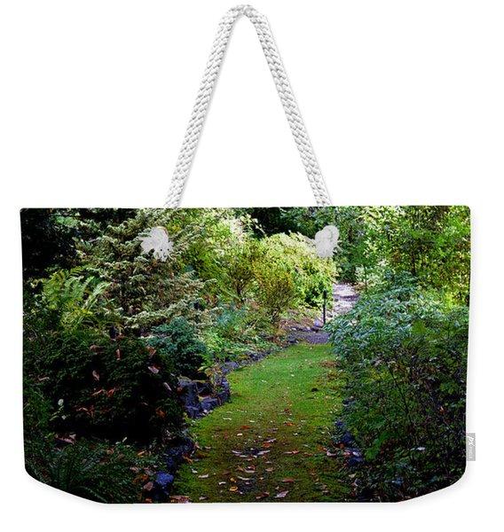 A Garden Path Weekender Tote Bag