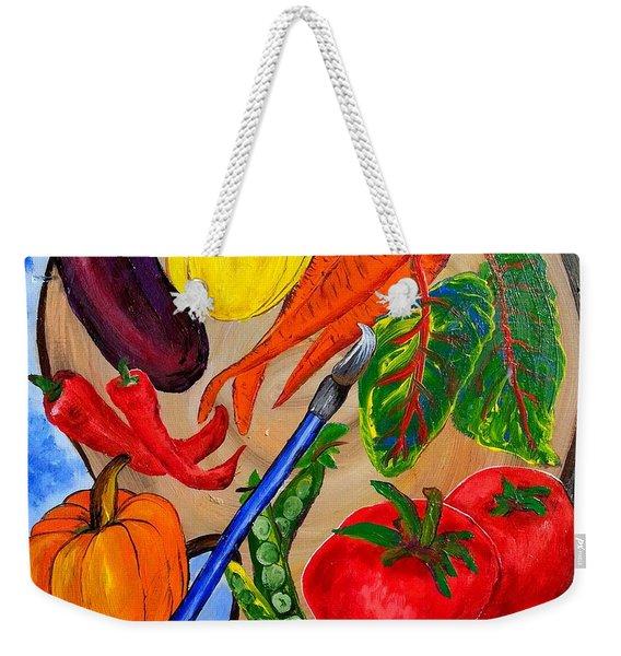 A Gardeners Palette Weekender Tote Bag