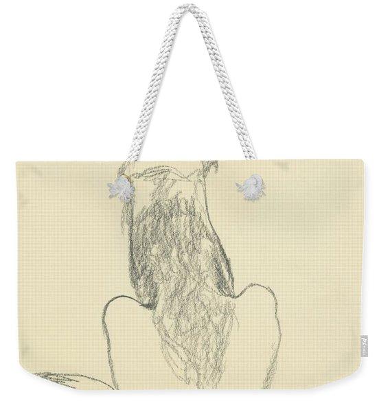 A German Shepherd Weekender Tote Bag