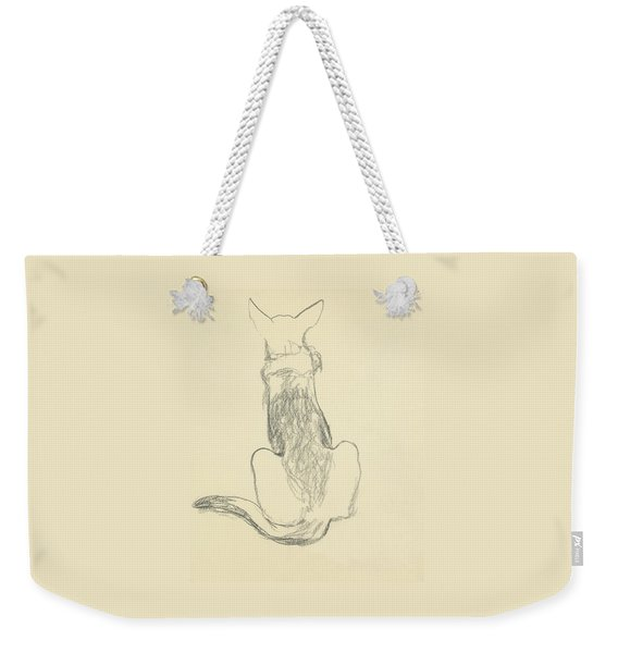 A German Shepherd Weekender Tote Bag