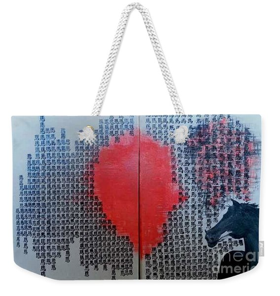 A Glance Of The Wind Weekender Tote Bag