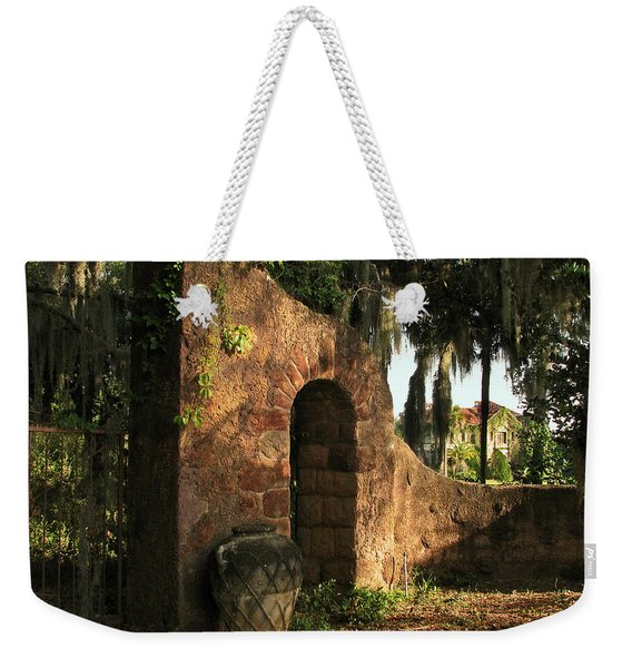 A Glimpse Into Yesteryear  Weekender Tote Bag
