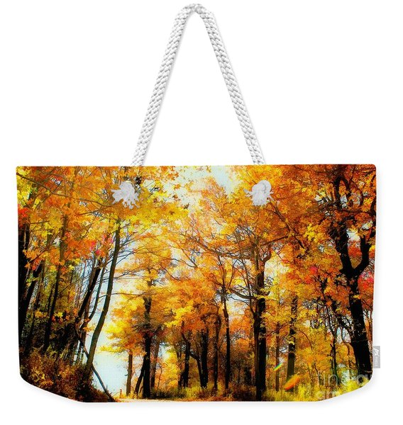 A Golden Day Weekender Tote Bag