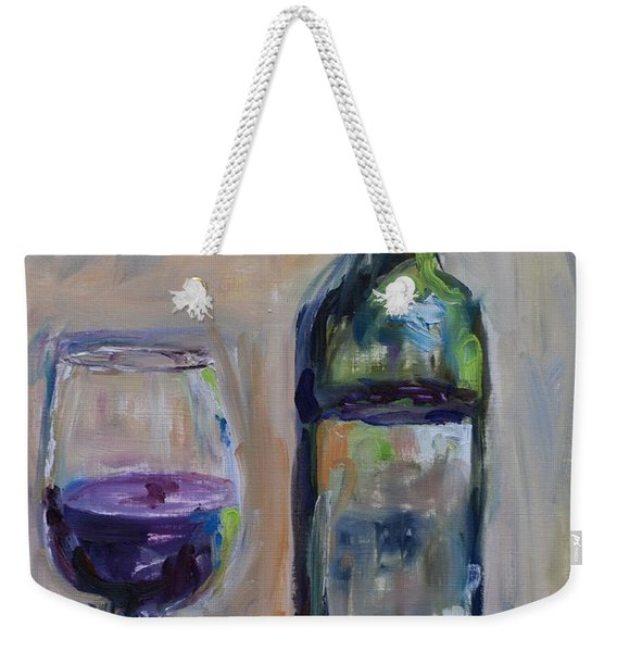 A Good Pour Weekender Tote Bag