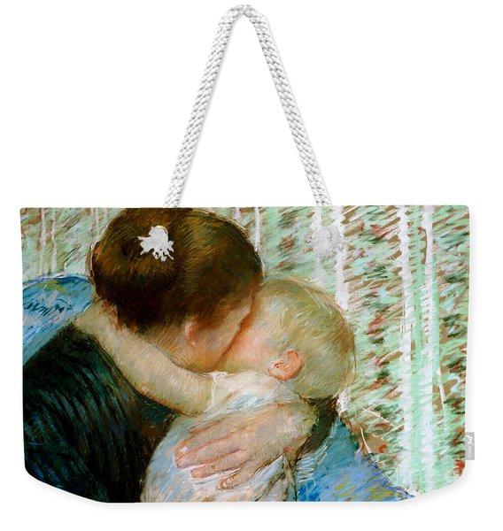 A Goodnight Hug  Weekender Tote Bag