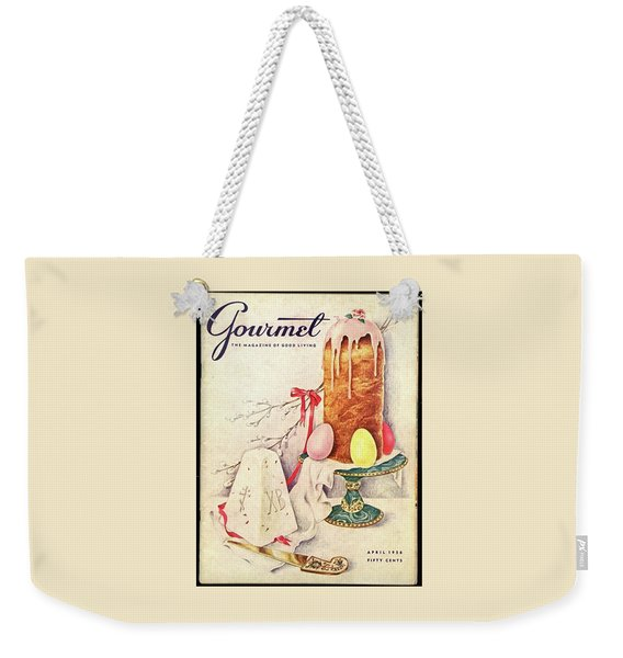 A Gourmet Cover Of A Cake Weekender Tote Bag