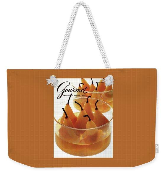 A Gourmet Cover Of Baked Pears Weekender Tote Bag