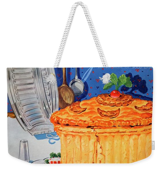 A Gourmet Cover Of Pate En Croute Weekender Tote Bag