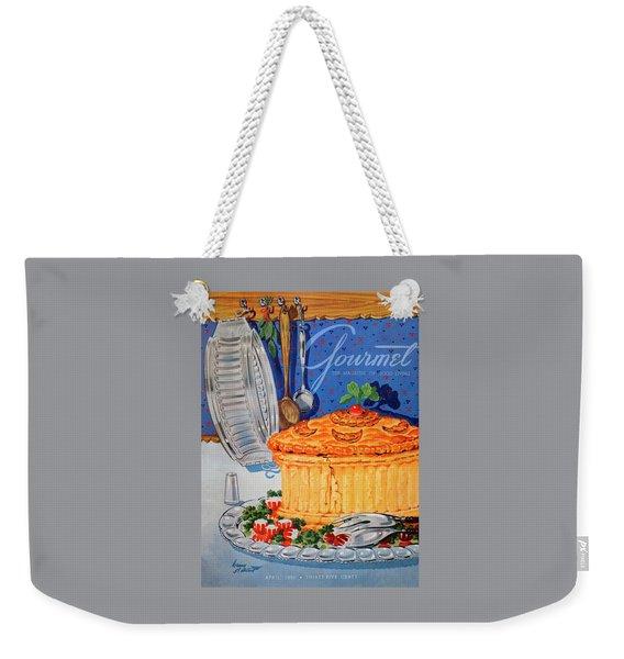 A Gourmet Cover Of Pate En Croute Weekender Tote Bag
