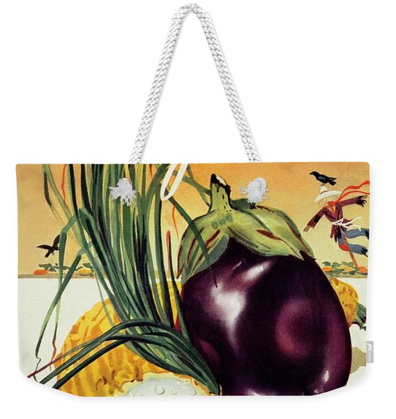 A Gourmet Cover Of Vegetables Weekender Tote Bag