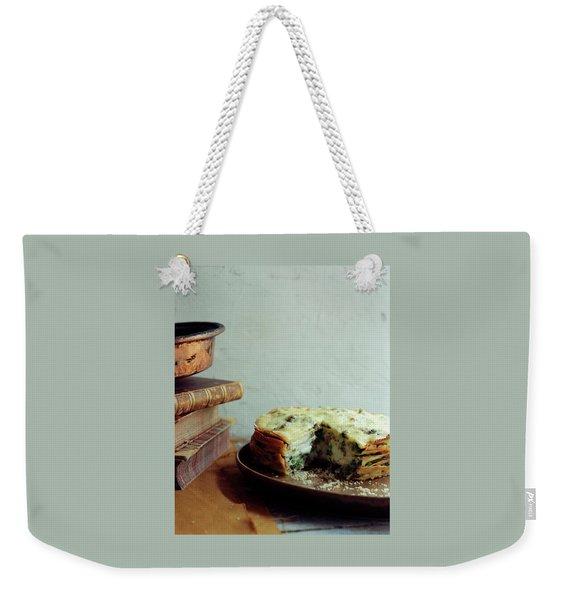 A Gourmet Torte Weekender Tote Bag