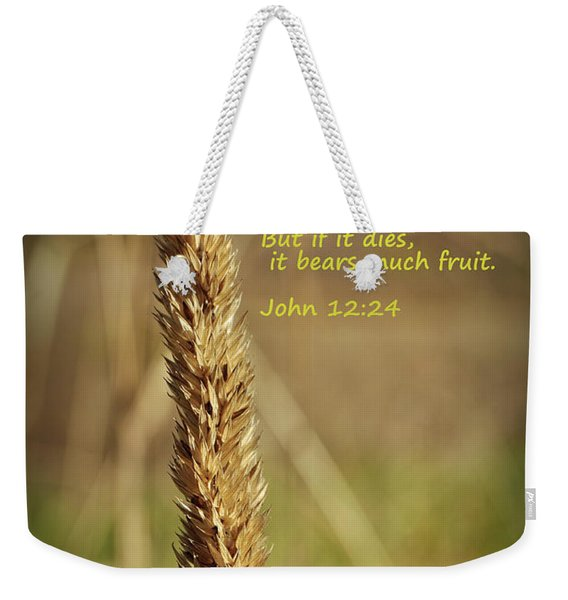 A Grain Of Wheat Weekender Tote Bag