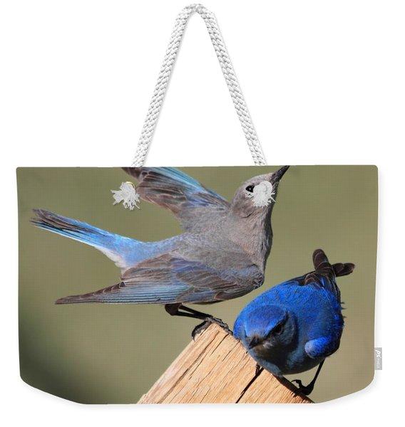 A Great Pair Weekender Tote Bag