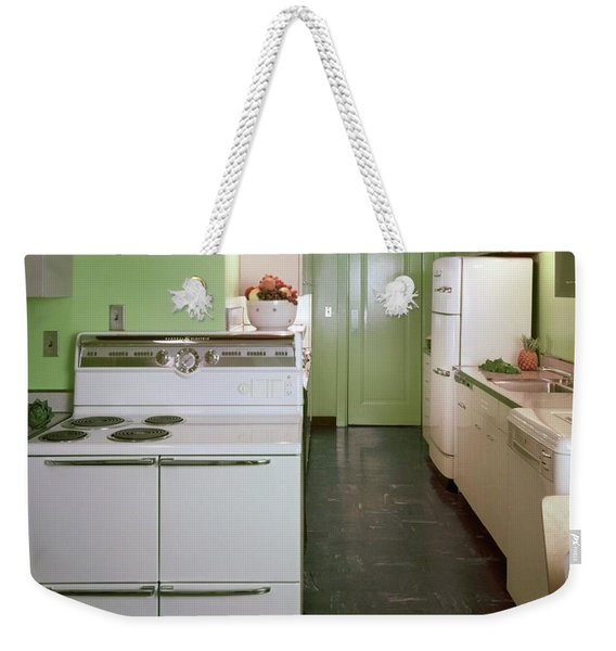 A Green Kitchen Weekender Tote Bag