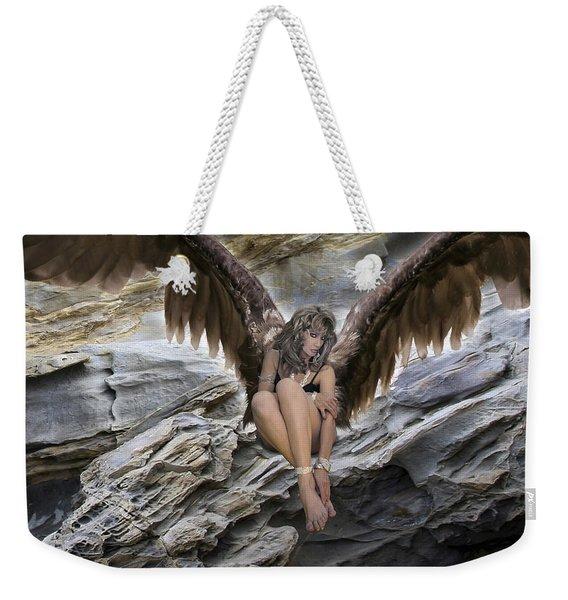A Guardian Angel Weekender Tote Bag