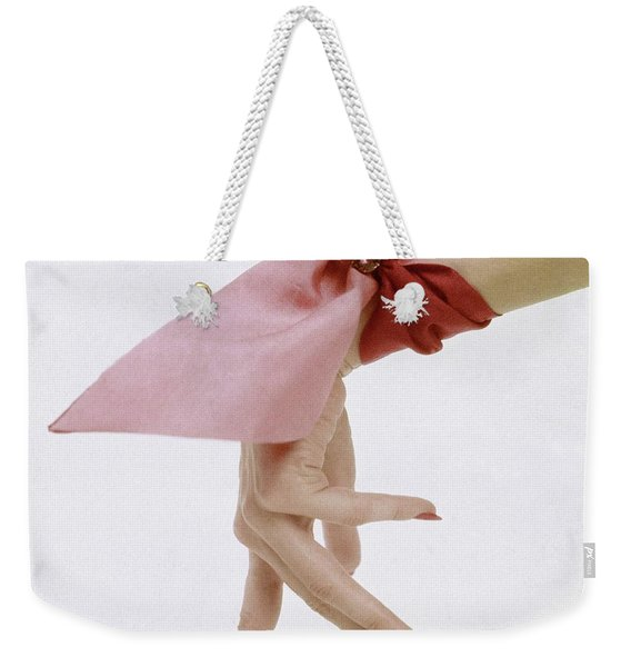A Hand With A Wrist Scarf Weekender Tote Bag