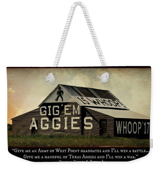 A Handful Of Aggies Weekender Tote Bag