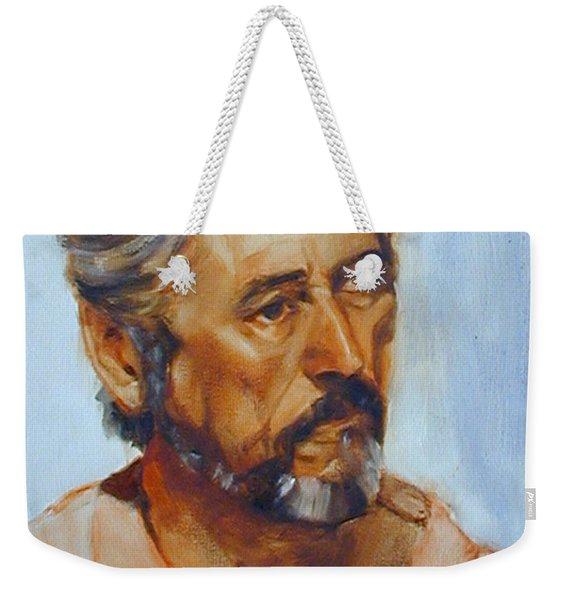 A Handsome Devil Still Weekender Tote Bag