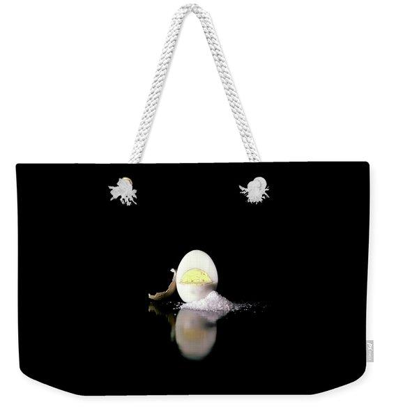 A Hard Boiled Egg Weekender Tote Bag