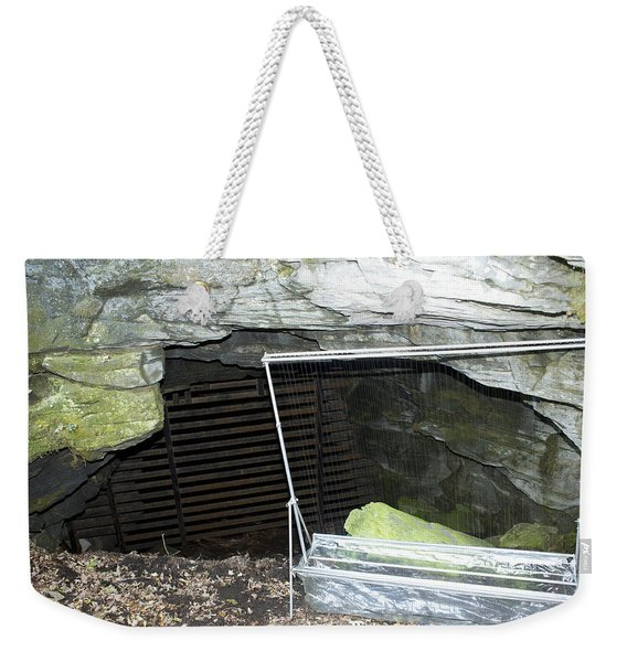 A Harp Trap To Capture And Study Bats Weekender Tote Bag