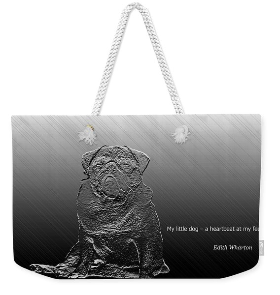 A Heartbeat At My Feet Weekender Tote Bag