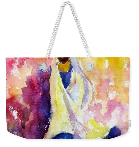A Heavenly Dancer Weekender Tote Bag