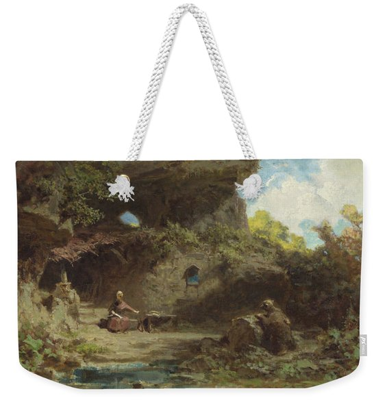 A Hermit In The Mountains Weekender Tote Bag
