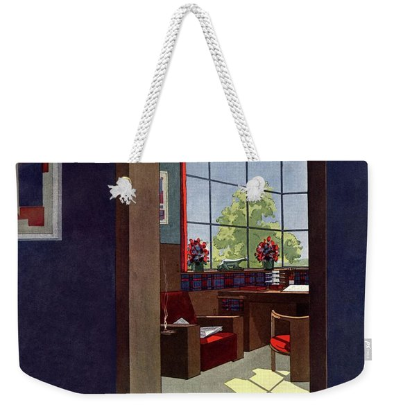A House And Garden Cover Of An Interior Weekender Tote Bag