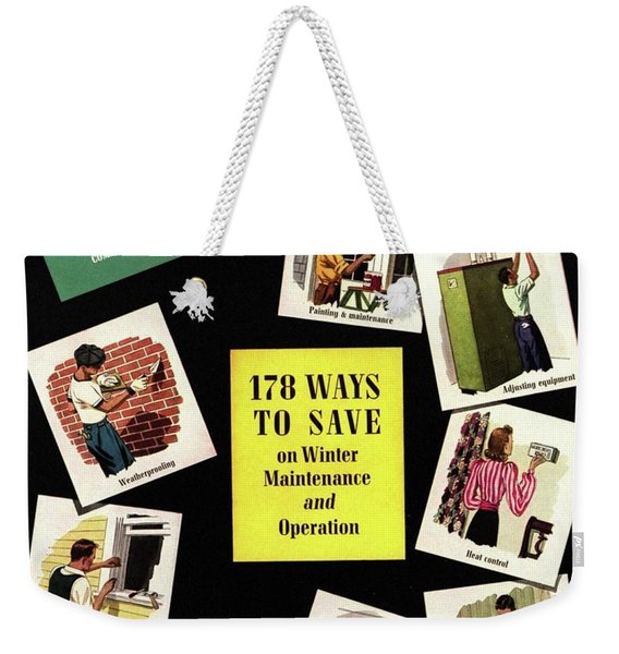A House And Garden Cover Of Renovation Weekender Tote Bag