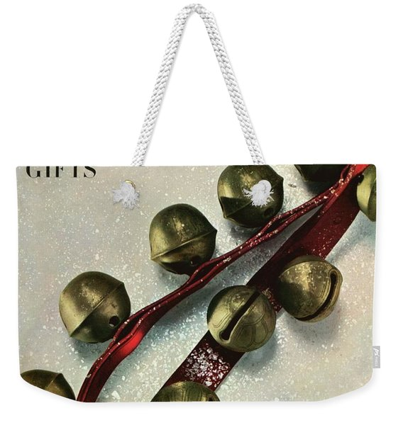 A House And Garden Cover Of Sleigh Bells Weekender Tote Bag