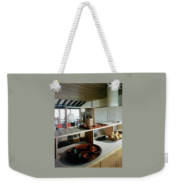 A House At Quantuck Bay Weekender Tote Bag