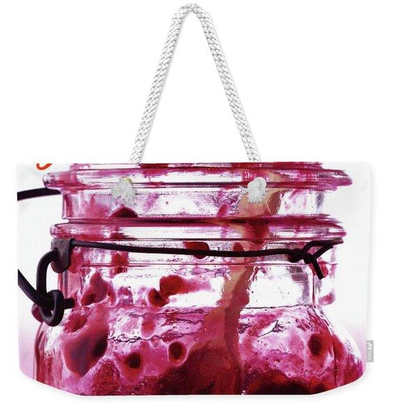 A Jar Of Skillet Blackberry Jam Weekender Tote Bag