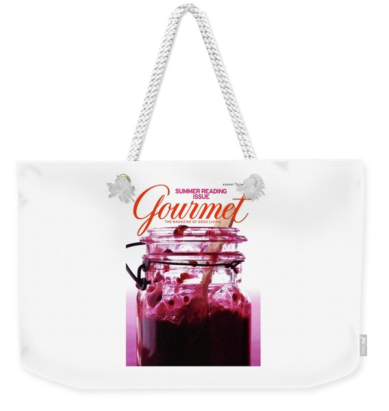 A Jar Of Skillet Blackberry Jam Weekender Tote Bag