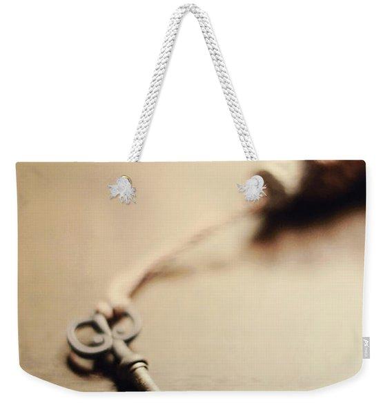 A Key... Weekender Tote Bag